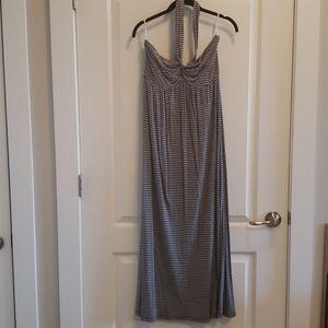 New York&Company Strapless Maxi Dress